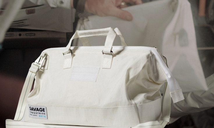Adam Savage`s new tool bag styled after Apollo astronaut `purse` | collectSPACE
