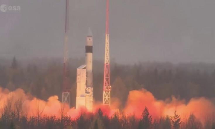 Air quality-monitoring satellite in orbit