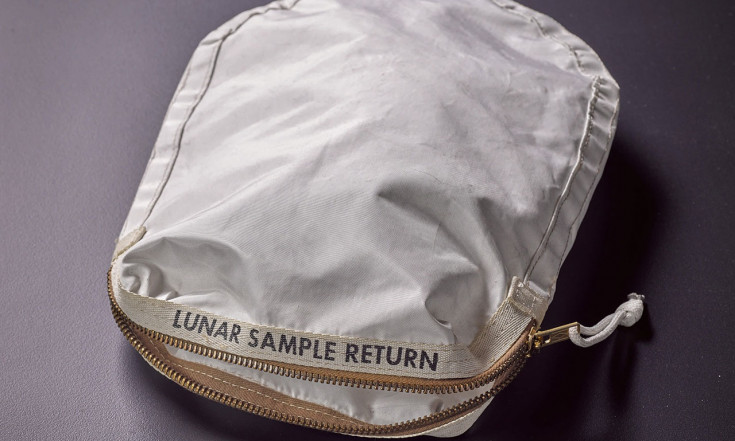 Apollo 11 moon dust-stained lunar sample bag may set sale record...