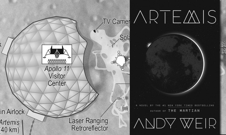 Apollo in `Artemis`: Author Andy Weir sets new book at site of first moon landing | collectSPACE