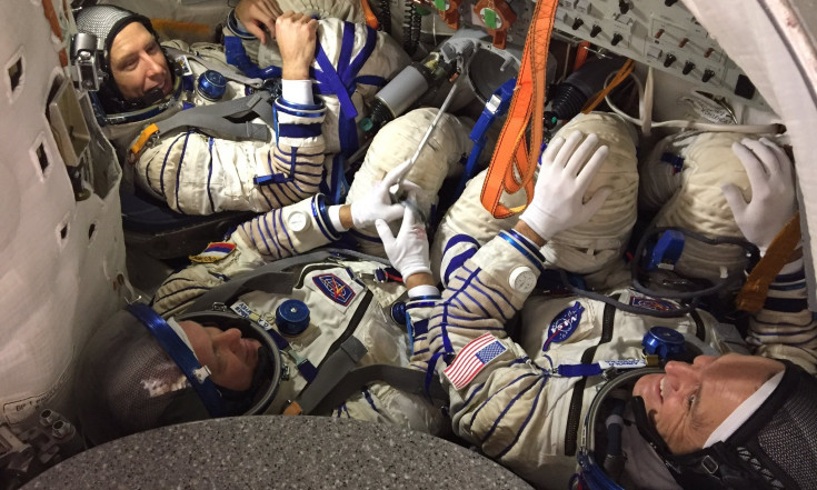 @astro_feustel: This time we were in the suits....