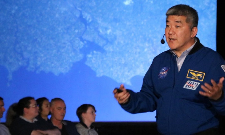 Astronaut Dan Inspires Cork Public at Space Studies Program...