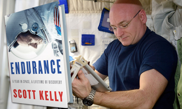 Astronaut Scott Kelly Shares Mission of `Endurance` in New Book