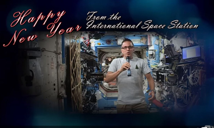 Astronauts Are Gearing Up to Celebrate the New Year in Space (Video)