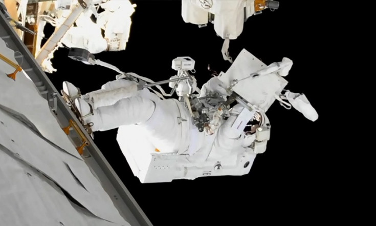 Astronauts Back Inside Station After Second Spacewalk