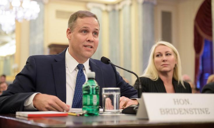 Bridenstine faces partisan criticism at NASA administrator nomination hearing - SpaceNews.com