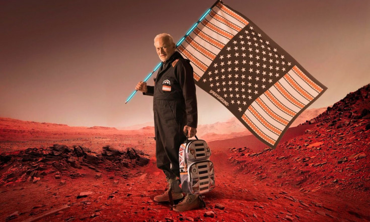 Buzz Aldrin Launches `Mission to Mars` Fashion Line with Sprayground
