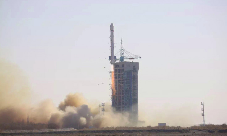China`s third space launch in five days carries land survey satellite to orbit