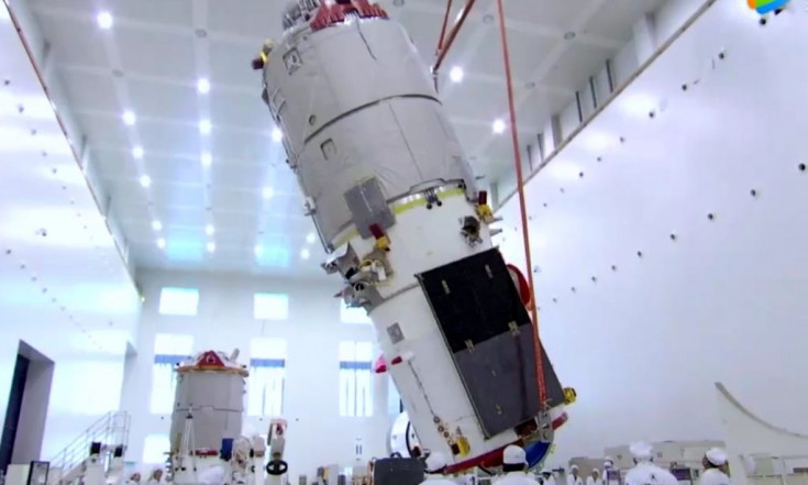 Chinese Cargo Resupply Craft Removed from Orbit after Successful Pathfinder Mission