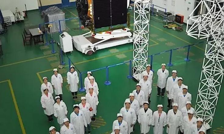 Chinese TV broadcasting satellite reaches operational orbit...