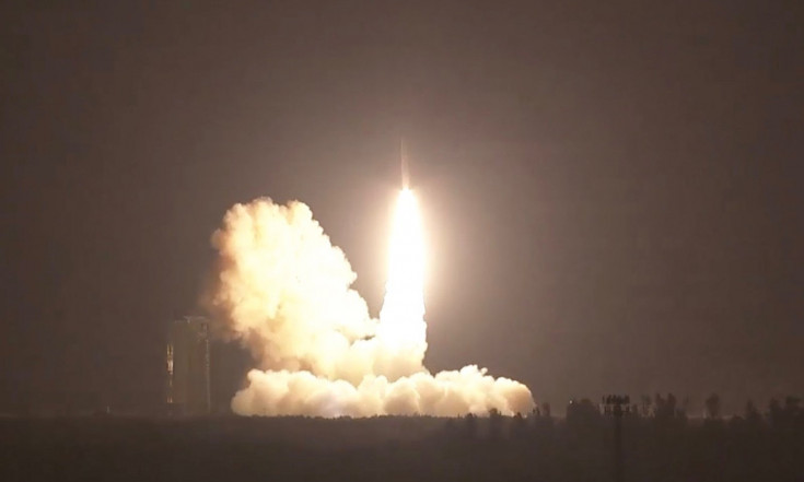 Converted Missile Launches Military Satellite to Track...