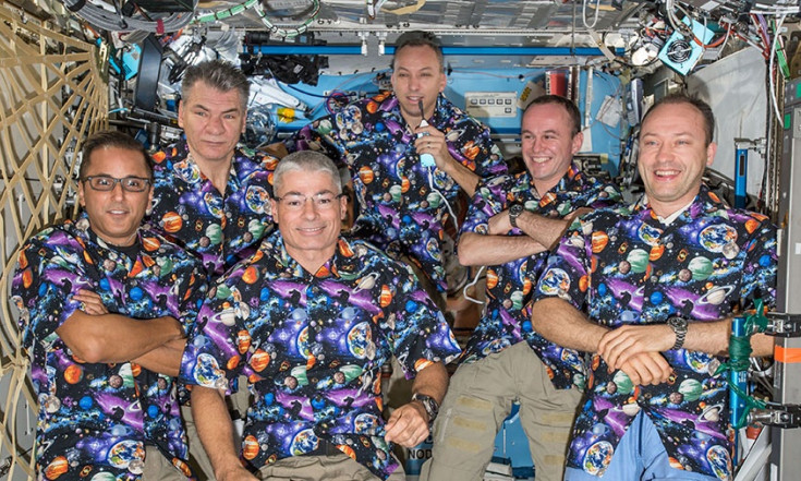 Crew Looks for Neutron Radiation While Prepping for Spacewalks
