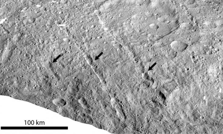 Dawn: Blick unter die Oberfläche von Ceres
