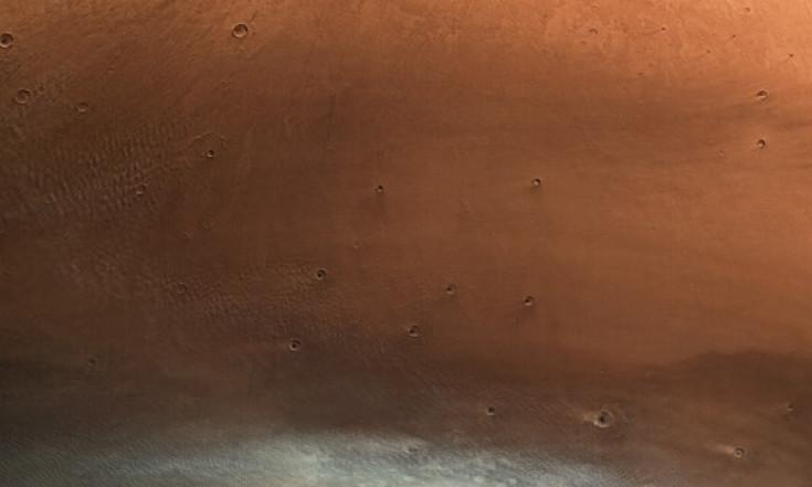 Der Mars steht Kopf