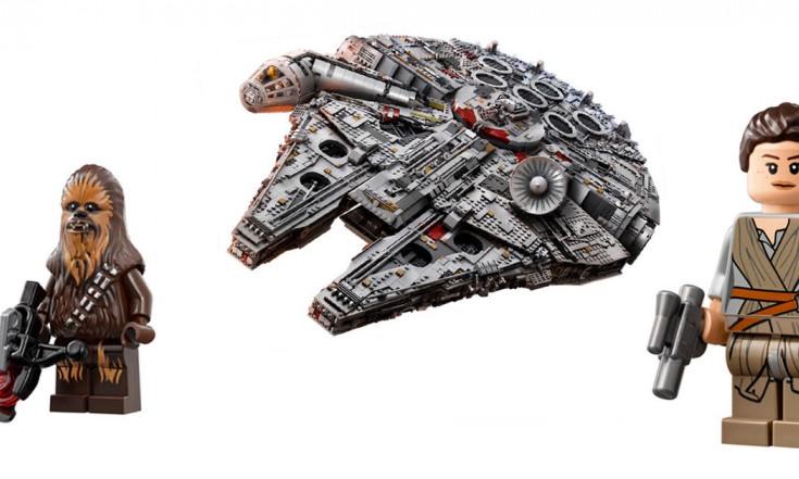 """Der neue """"Millennium Falcon"""" ist jetzt das größte und teuerste..."""