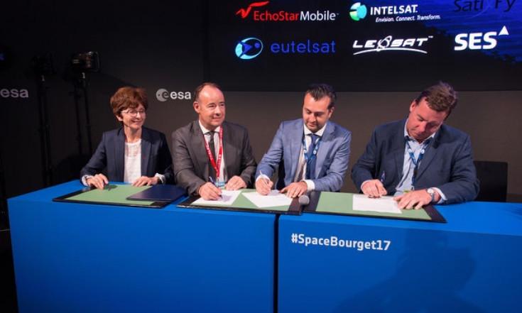 Die ESA und die Europäische Raumfahrtindustrie bündeln ihre...
