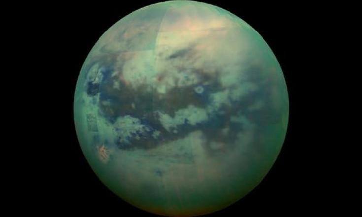 Die sieben größten Saturnmonde