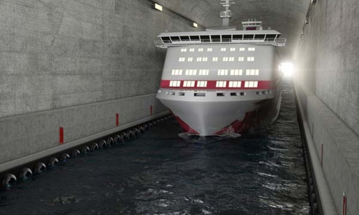 DriveSpark - Norway To Build World's First Ship Tunnel