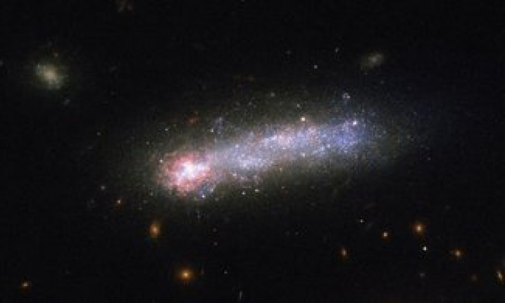 ESA Science & Technology: Galactic David and Goliath [heic1712]