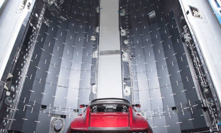 Elon Musk Reveals Photos of Tesla Roadster Launching on Falcon Heavy Rocket