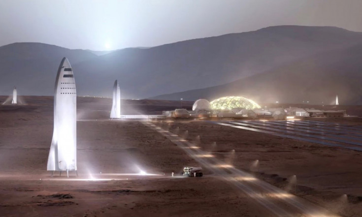 Elon Musk Wants Giant SpaceX Spaceship to Fly People to Mars by 2024