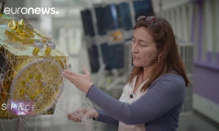 ESA Euronews: Viel Weltraumschrott und viele Ideen