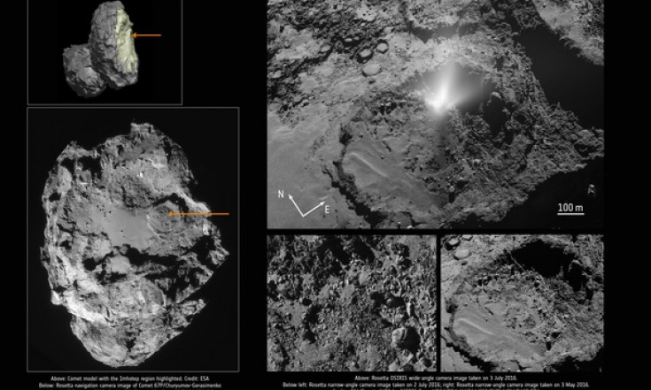 ESA Science & Technology: Rosetta finds comet plume powered from deep below