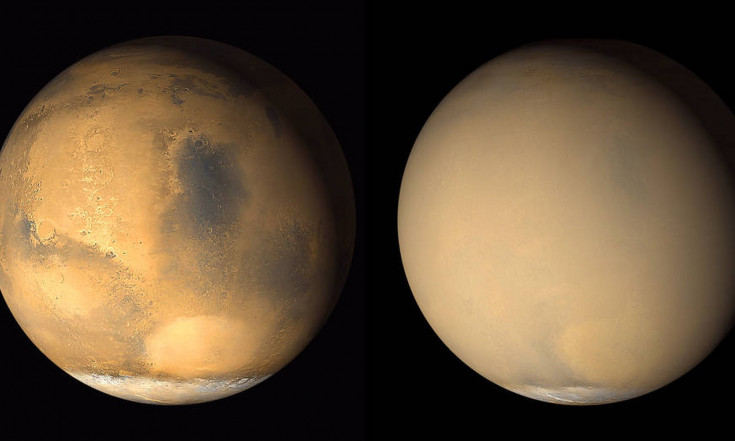 Escape from Mars! Red-Planet Dust Storms Linked to Atmosphere Loss
