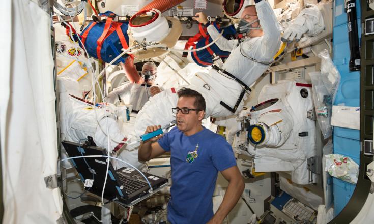 Final Spacewalk Preps Before November Cygnus Launch