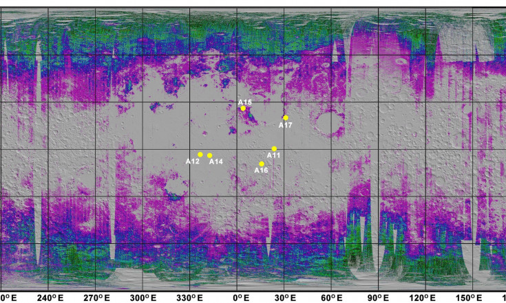 First Map of Water on the Moon Offers `Roadmap` for Future...