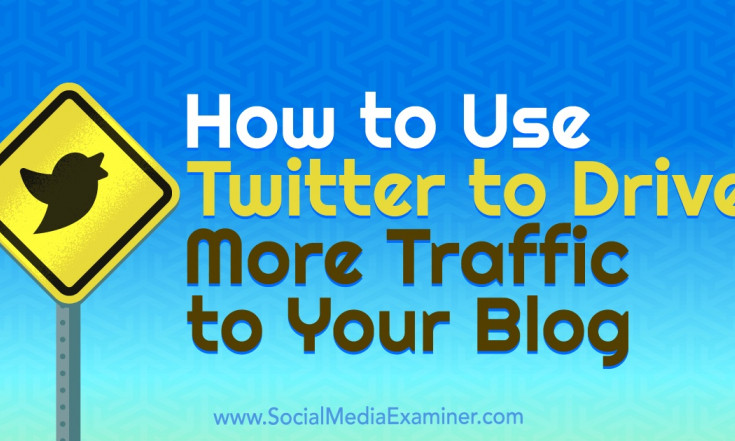 How to Use Twitter to Drive More Traffic to Your Blog : Social...