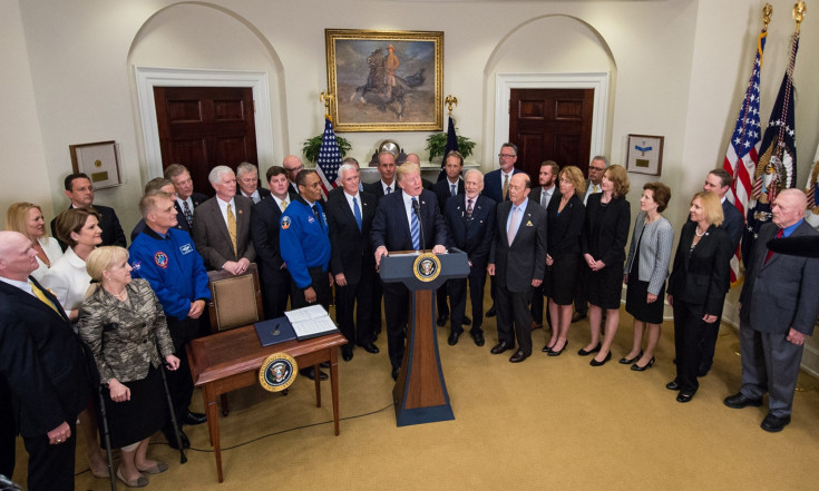 In Photos: President Donald Trump and NASA