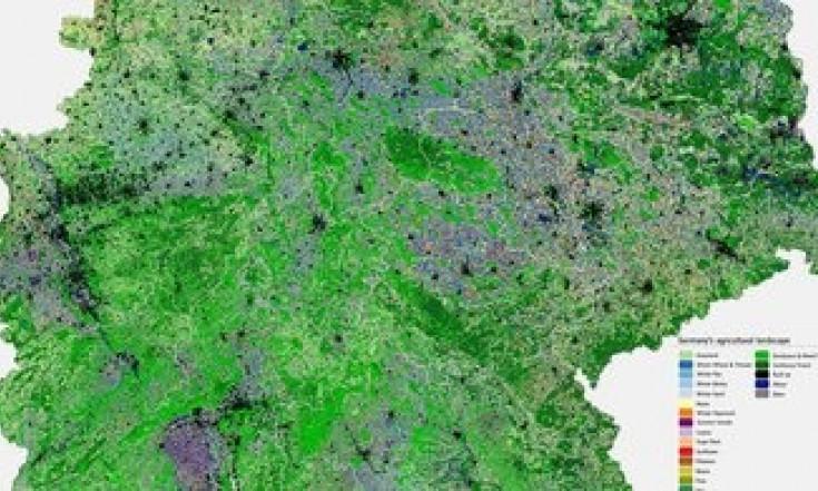 Kartierung der Agrarlandschaft Deutschlands