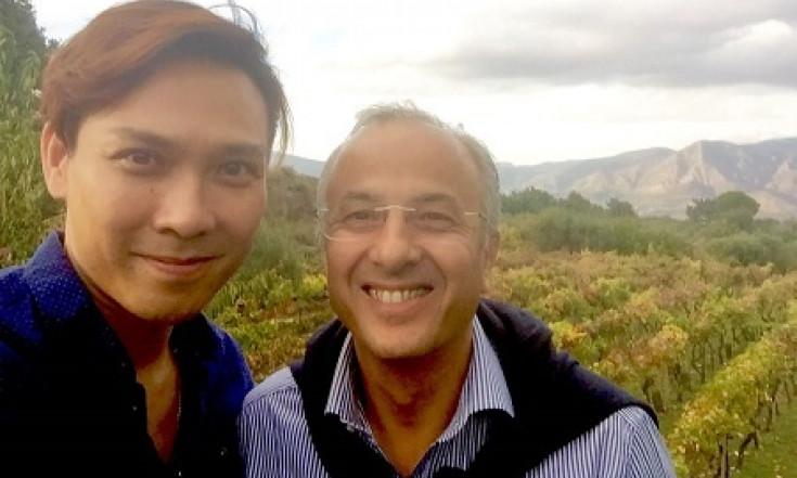 La corsa all`Etna del vino non si ferma Stefano Yim da Hong Kong...