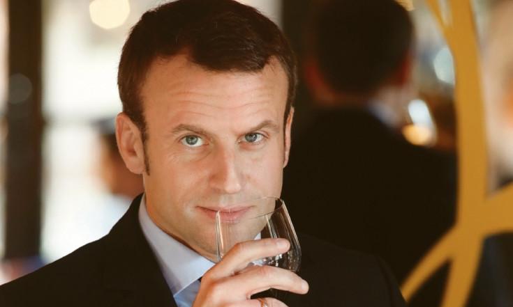 Macron, le président qui aimait le vin