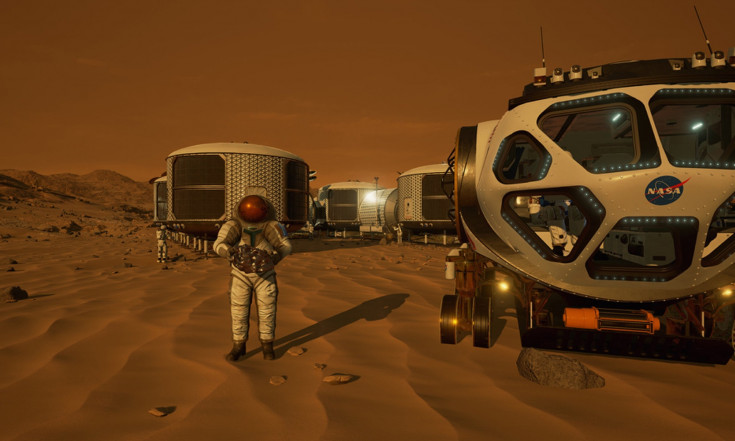 Mars 2030: What It Was Like to Explore the Red Planet in Virtual...