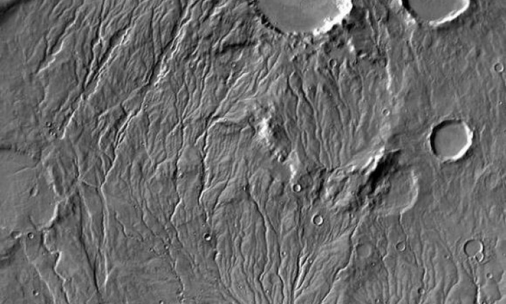 Meltwater From Glaciers May Have Flowed on Ancient Mars
