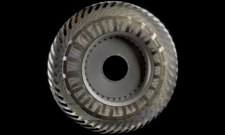 Metal Tires for Mars: `Shape Memory` Could Help Rovers Roll