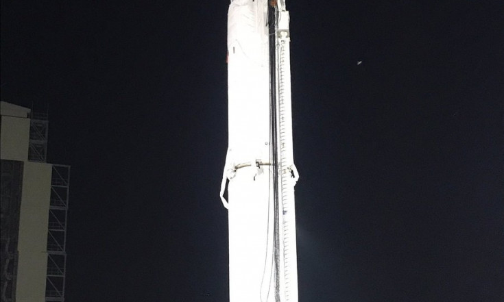 Minotaur IV Stands Ready to Fire Off from Cape Canaveral with ORS-5 Space Surveillance Satellite