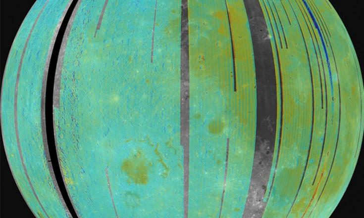 Mond: Wasservorkommen auf der gesamten Oberfläche