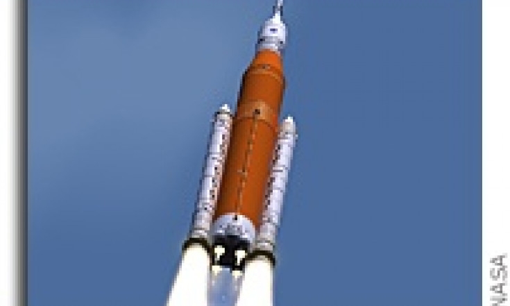 NASA Changes Paint Job on SLS Again