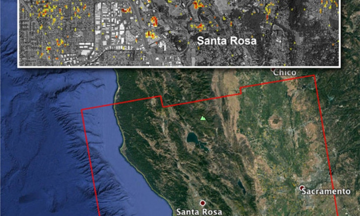 NASA Map of Wildfire Damage Helps California Recovery Effort