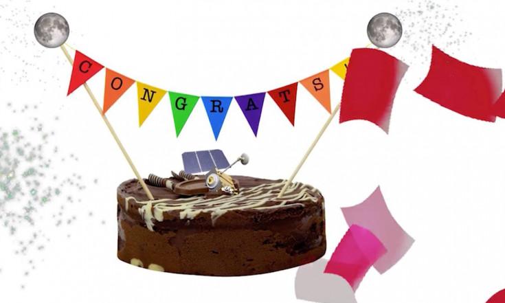 NASA Moon Probe Celebrates 100th Lunar Day