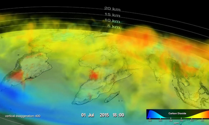 NASA Satellite Sees Overheated Tropical Forests Oozing with Carbon Dioxide