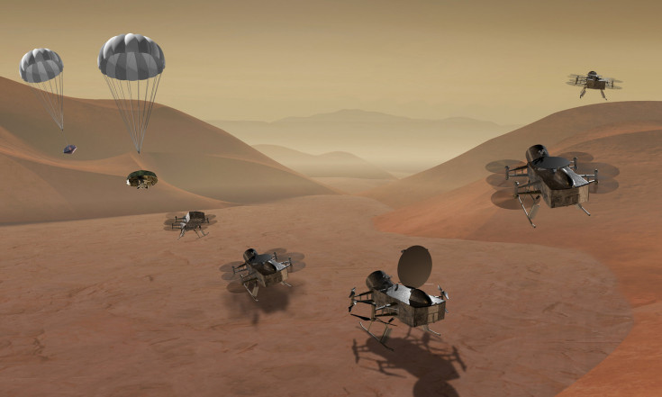NASA Shortlists Titan Quadcopter, Comet Sample-Return Concepts for 2020s Mission