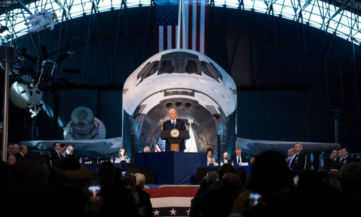 NASA: Wieder zum Mond und dann zum Mars
