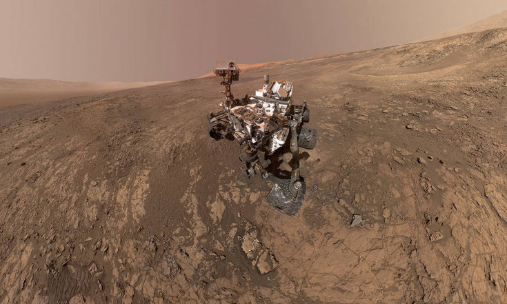 NASA`s Curiosity Rover Just Snapped an Awesome Selfie on Mars