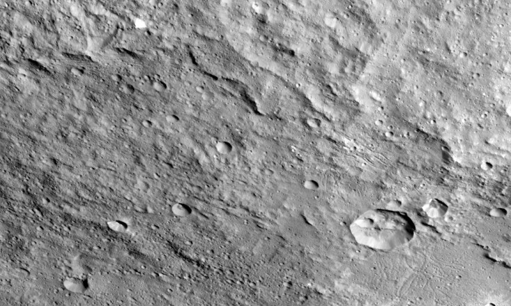 @nasa_dawn: Dantu Crater on #Ceres has a shape...