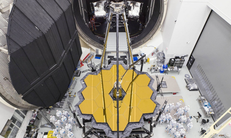 NASA`s James Webb Space Telescope Emerges from Giant Vacuum Chamber