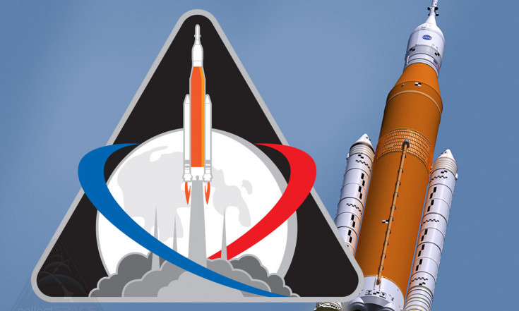 NASA`s Space Launch System rocket gets maiden mission patch | collectSPACE